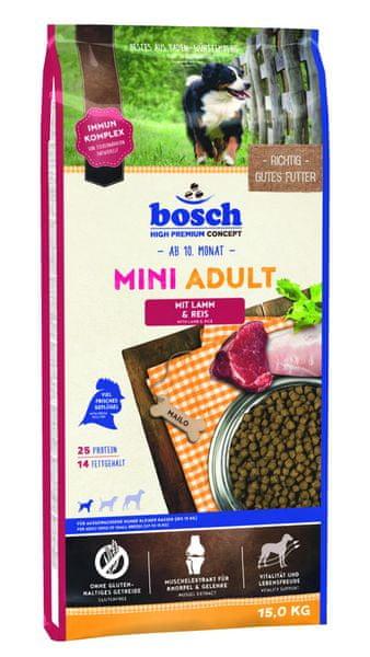 Bosch Mini Adult Lamb&Rice 15kg