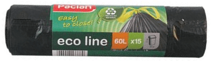 HIMAXX vrečke za smeti, 60 l, (7 x 15 kosov)
