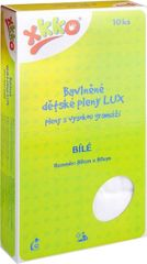 XKKO Bavlněné pleny LUX 80x80 cm - 10 ks