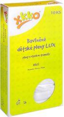 Kikko Pieluszki bawełniane Lux 70x70 cm - 10 szt.