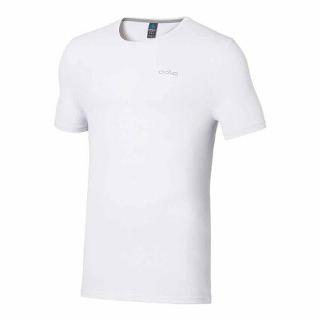 ODLO majica s kratkimi rokavi Sillian, moška, bela, L