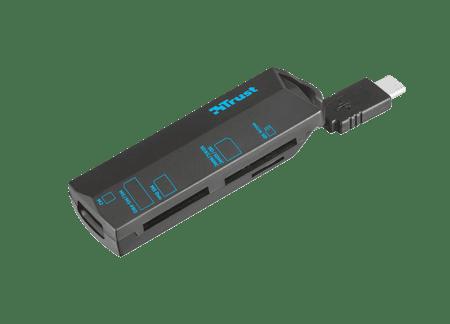 Trust čitalec kartic USB Type-C
