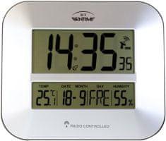 Bentime H15-ET843S Rádióvezérlésű óra, Ezüst