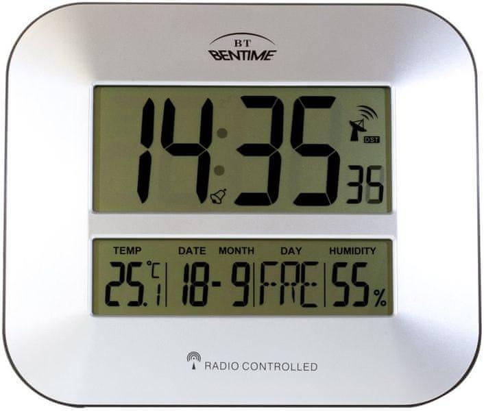 Bentime Rádiem řízené hodiny H15-ET843S