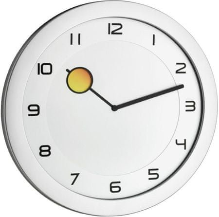 TFA Nástenné hodiny meniace farbu 60.3028.54