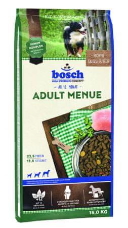 Bosch hrana za odrasle pse Adult Menue, 15 kg (nova receptura)