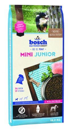 Bosch Mini Junior Kutyatáp, 15 kg