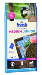 Bosch Medium Junior Kutyatáp, 15 kg