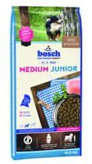 Bosch hrana za pasje mladiče srednje velikih pasem Medium Junior, 15 kg (nova receptura)