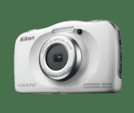 Nikon digitalni fotoaparat W100, podvodni, bel