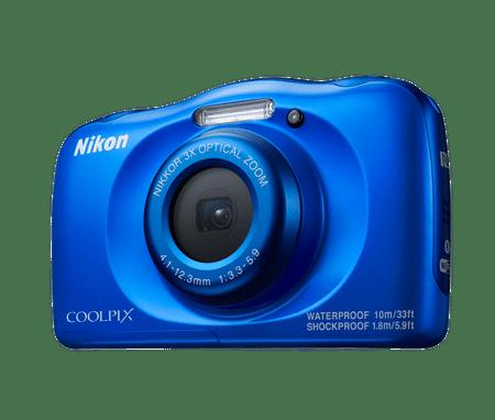 Nikon digitalni fotoaparat W100, podvodni, moder