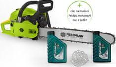 Fieldmann FZP 4516-B + olej na mazání řetězu, motorový olej a řetěz