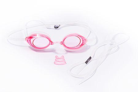 Born To Swim Plavecké brýle Racer Comfort - růžové