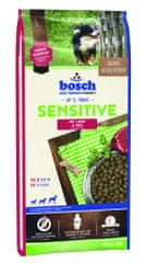 Bosch hrana za pse Sensitive, jagnjetina in riž 15 kg (nova receptura)