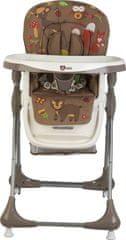G-mini Jídelní židle Melisa zvířátka