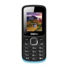 MaxCom mobilni telefon MM128 DualSIM, črno-moder