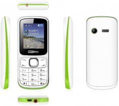 MaxCom MM129, DualSIM, bílý