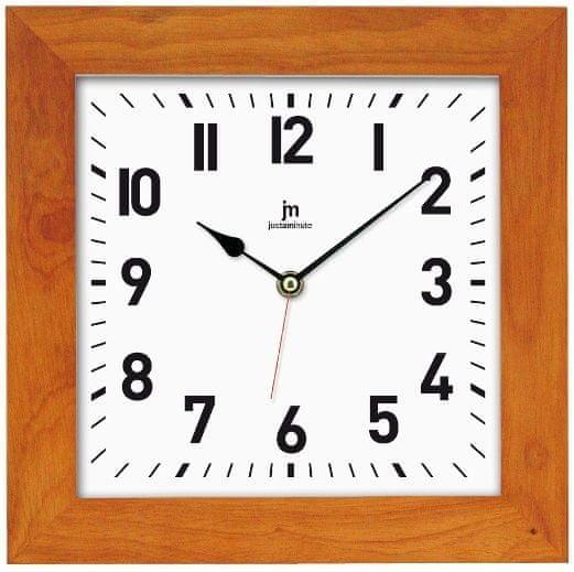 Lowell Nástěnné hodiny 21035C světle hnědá