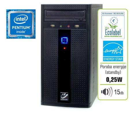 mimovrste=) namizni račnunalnik Plus P/4GB/500GB/IntelHD