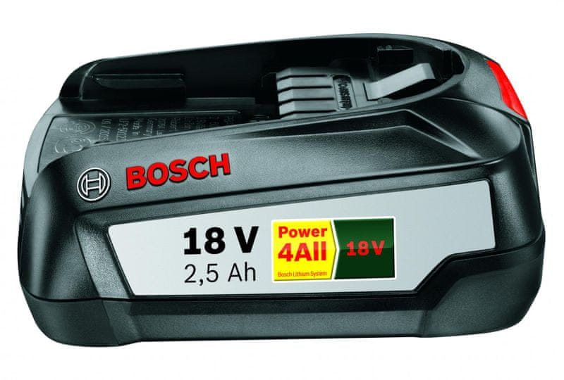 Bosch Battery 18 LI, 2.5 Ah upgrade