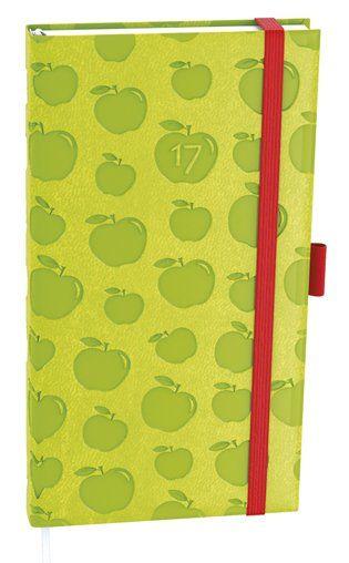 Diář denní Filip vivella extra kapesní jablko (zelený)