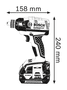 2 - Bosch akumulatorski udarni vijačnik GDX 18 V-EC (06019B9103)