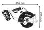 2 - Bosch akumulatorska krožna žaga GKM 18 V-LI (06016A4001)