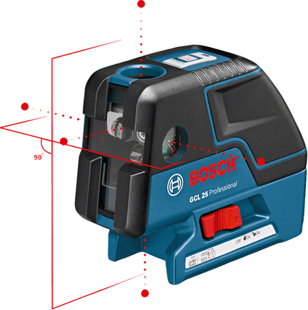Bosch točkovni laser GCL 25 (0601066B00)