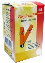 EasyTouch Húgysav tesztcsík, 25 db