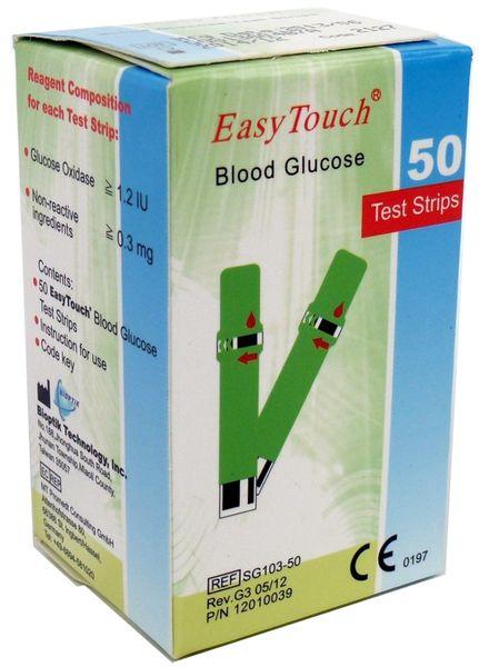EasyTouch Proužky glukóza (50 ks)