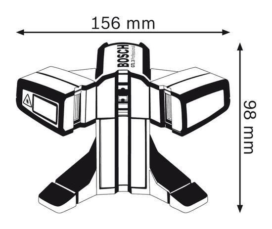 BOSCH Professional laser za pečarje GTL 3 (0601015200)