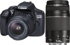 Canon EOS 1300D + 18-55 DC + 75-300 DC
