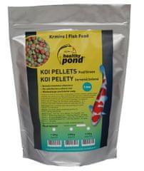 Healthy Pond Plovoucí pelety červené/zelené 5mm 10L
