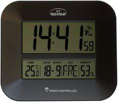 Bentime H15-ET843G Rádióvezérlésű óra, Fekete