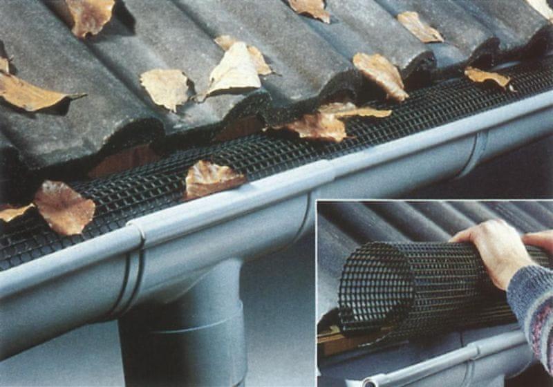 LanitPlast Oblý lapač listí pro RG 150 délka 3 m