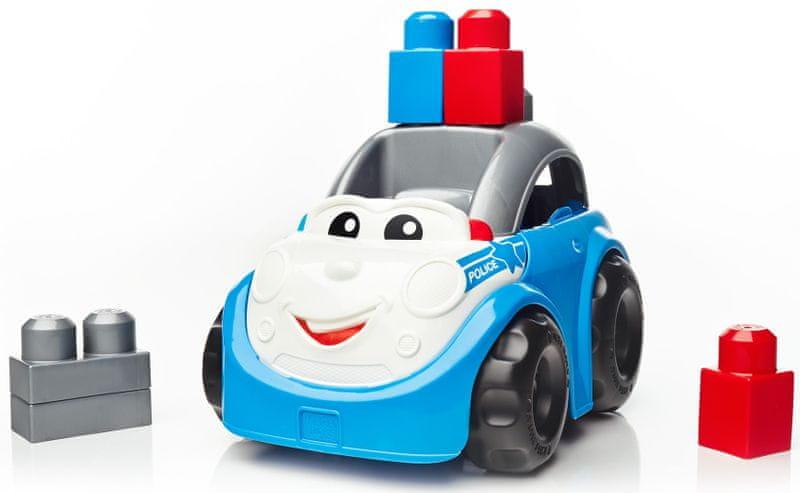MEGA BLOKS Policejní auto Peter
