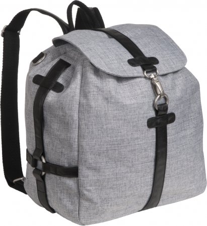 Lässig Green Label Backpack, Black Mélange