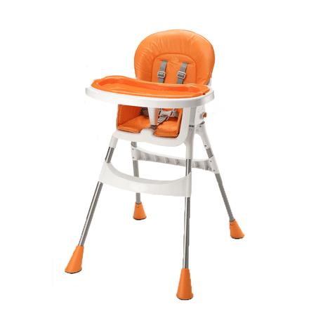 BC Home visoki stol za hranjenje Baby CA-HC-Y101, oranžen