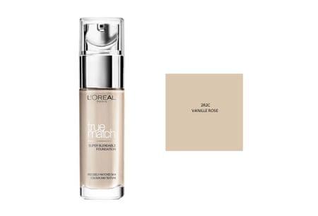 L'Oréal tekoči puder True Match, 2C Rose Vanilla