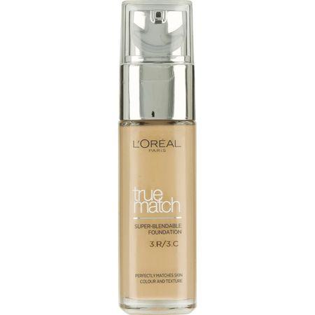 L'Oréal tekoči puder True Match, 3C Rose Beige