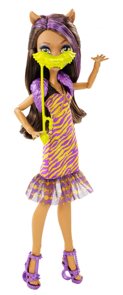Monster High Clawdeen Wolf Vítej v Monster High