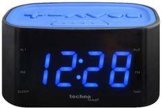 Technoline budzik WT 465W, niebieski