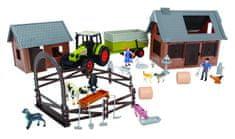 DICKIE Zestaw Farma z traktorem CLAAS