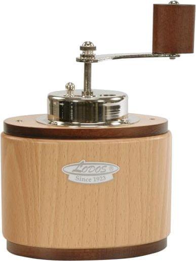 Lodos Ruční mlýnek na kávu Ovál světlý