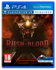 Sony Until Dawn Rush of Blood / PS4 VR