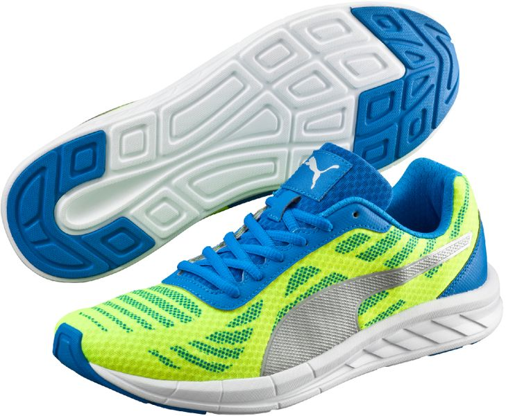 Puma Meteor Safety Yellow-Puma Silver-Electric 45