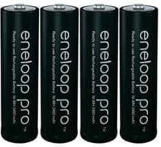 Panasonic Eneloop polnilne baterije Pro AA (4 kosi)