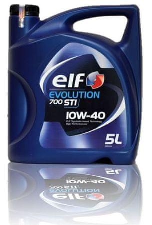 Elf motorno olje Evolution 700 STI 10W-40, 5 l