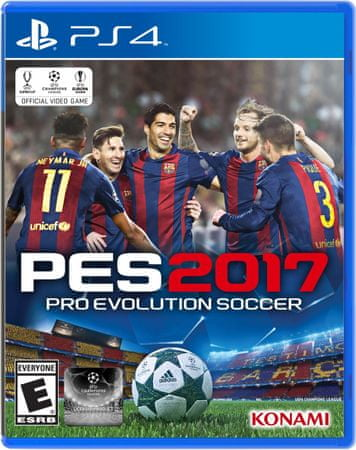 Konami Pro Evolution Soccer 2017 (PS4)
