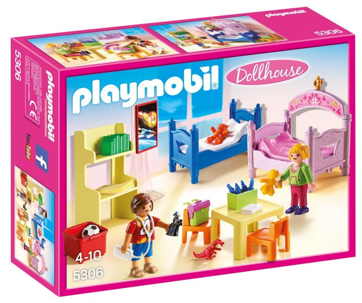 Playmobil 5306 Barevný dětský pokoj